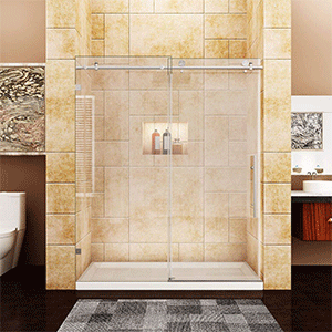 Best Frameless Shower Door Sunny