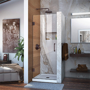 Best Frameless Shower Door DreamLine Unidoor