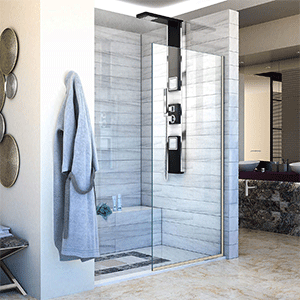 Best Frameless Shower Door DreamLine Linea